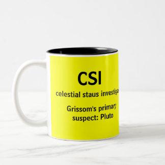 CSI - uma caneca da tevê do GEEK