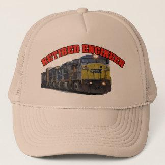 CSX aposentou-se o chapéu do engenheiro Boné