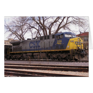 CSX Dash9 Cartão
