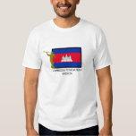 CTR DA MISSÃO LDS DE CAMBODIA PHNOM PENH T-SHIRT