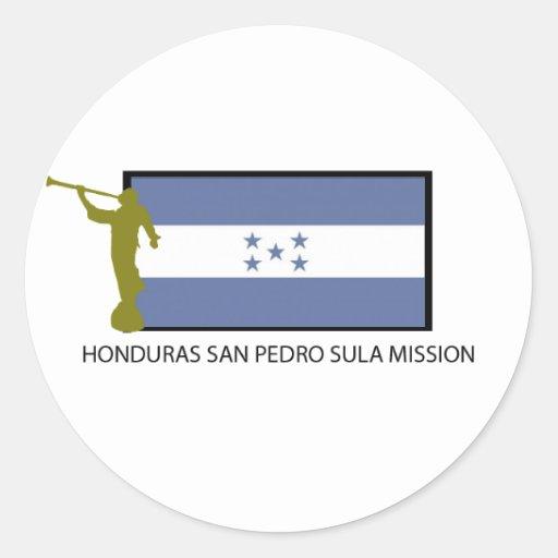 CTR DA MISSÃO LDS DE HONDURAS SAN PEDRO SULA ADESIVOS