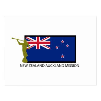 CTR DA MISSÃO LDS DE NOVA ZELÂNDIA AUCKLAND CARTÃO POSTAL