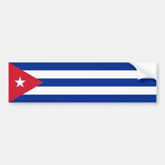 Cuba/bandeira cubana adesivo para carro