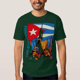 CUBA REVOLUCIONARIA CAMISETA