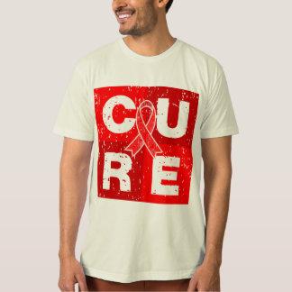 Cubo afligido curso da CURA T-shirt