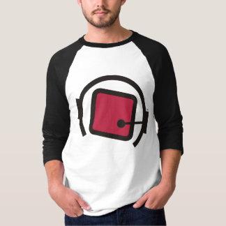 cubos do qb no adulto do espaço 3/4 de camisa da