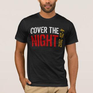 Cubra a noite Kony 2012 Camiseta