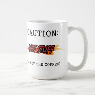 Cuidado: Caneca de café do digno de nota (nenhum