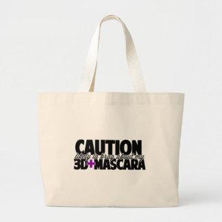 Cuidado - provavelmente para vangloriar-se sobre sacola tote jumbo