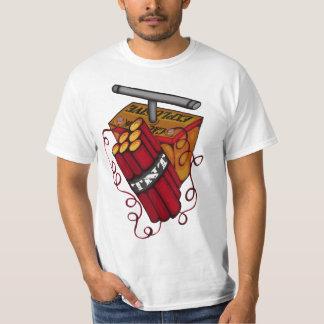 Cuidado TNT explosivo T-shirts