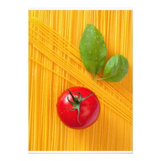 Culinária italiana convites
