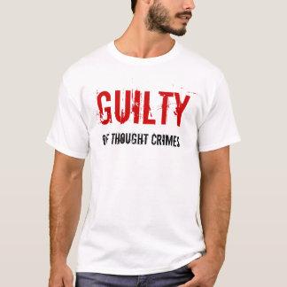 Culpado da camisa dos crimes do pensamento