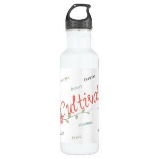 Cultive a garrafa de água