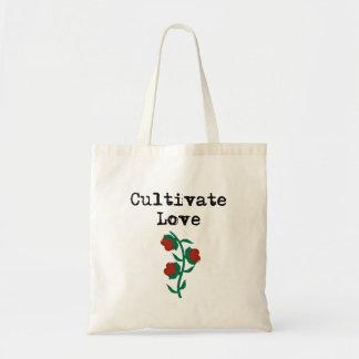 Cultive o amor bolsa tote