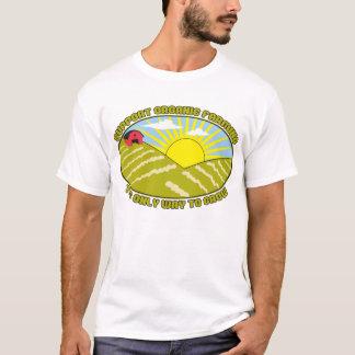 Cultivo orgânico do apoio camiseta