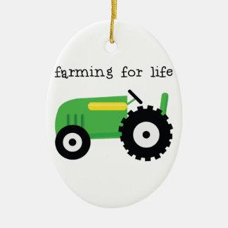 Cultivo para a vida ornamentos para arvore de natal