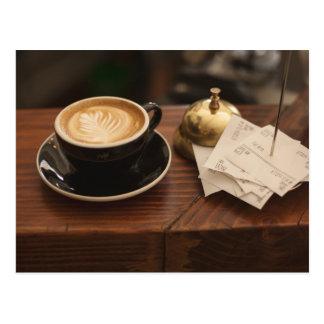 Cultura do café cartão postal
