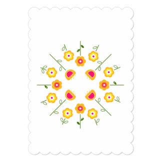 Cumprimento de papel com ervas convite 12.7 x 17.78cm