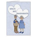 Cumprimento do dia da avó cartões