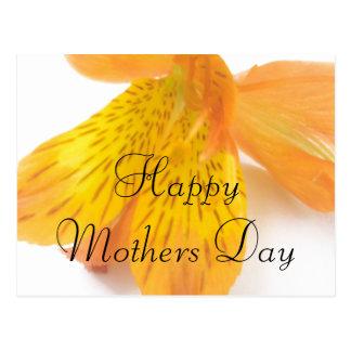Cumprimento do dia das mães cartão postal