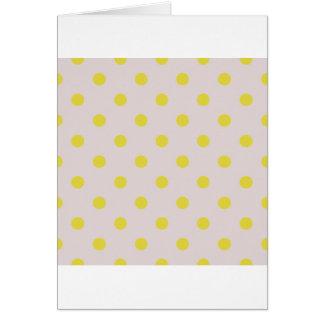Cumprimento original com pontos amarelos cartão