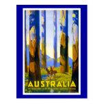 Cumprimentos Austrália do cartão Cartões Postais
