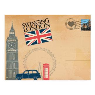 Cumprimentos cartão de Londres, Reino Unido
