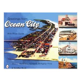Cumprimentos da cidade do oceano, com guia do preç panfletos personalizados