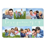 Cumprimentos da foto do feriado da grade da convite 12.7 x 17.78cm