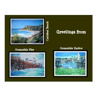 Cumprimentos de Califórnia - cartão