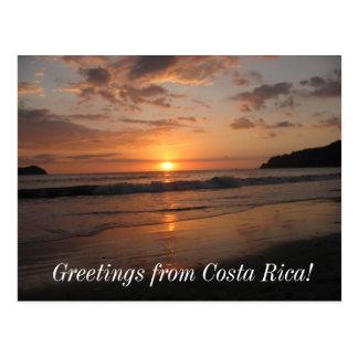 Cumprimentos de Costa Rica! Cartão Postal