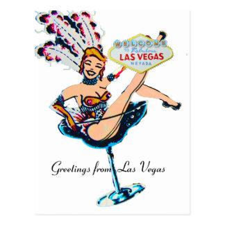 Cumprimentos de Las Vegas Cartão Postal