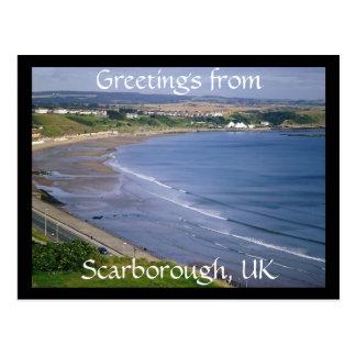 Cumprimentos de Scarborough, cartão BRITÂNICO