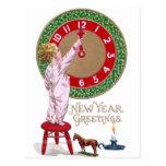 Cumprimentos do ano novo do pulso de disparo & da cartão postal