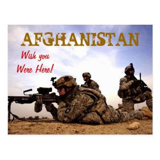 Cumprimentos do cartão de Afeganistão