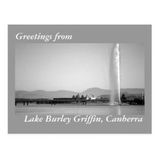 Cumprimentos do cartão de Canberra