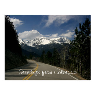 Cumprimentos do cartão de Colorado