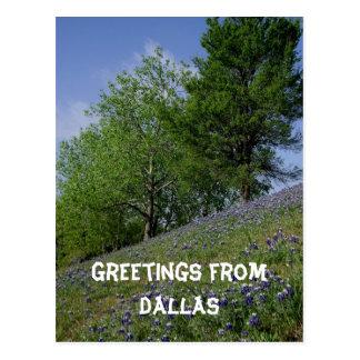 Cumprimentos do cartão de Dallas
