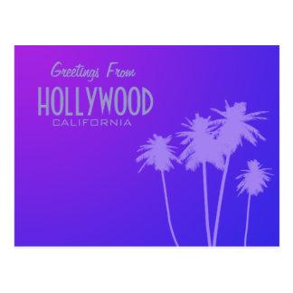 Cumprimentos do cartão de Hollywood