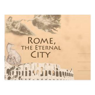 Cumprimentos do cartão romano de Colosseum Roma