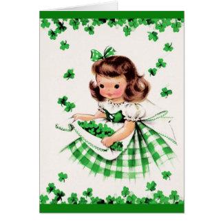 Cumprimentos do dia de St Patrick. Cartão