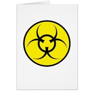 Cumprimentos do XMAS do Biohazard Cartão Comemorativo