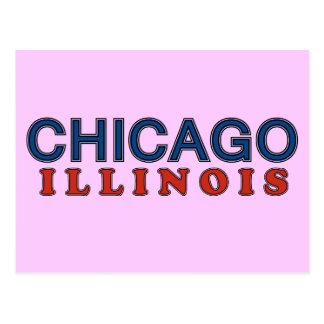Cumprimentos dos amigo de Chicago mis! Cartoes Postais
