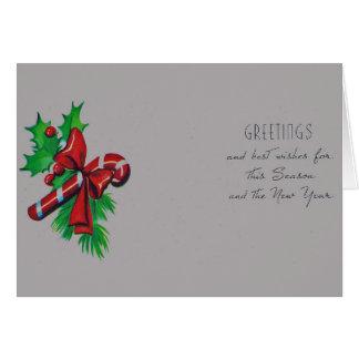 Cumprimentos e cumprimentos cartão comemorativo