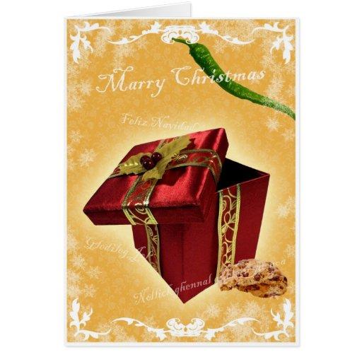 Cumprimentos especiais 2 da tia Courtney Cartão