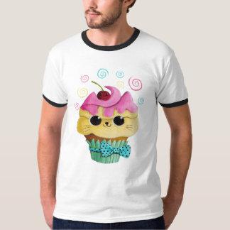 Cupcake bonito do gatinho t-shirt
