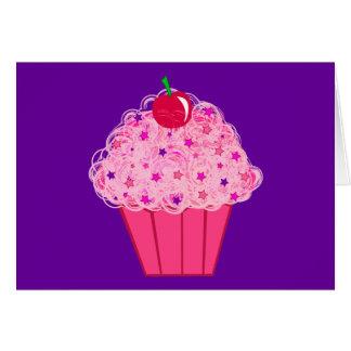 Cupcake Cartão Comemorativo