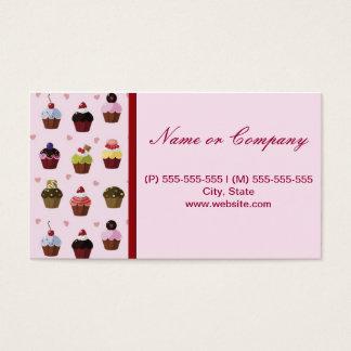 Cupcake Cartão De Visitas