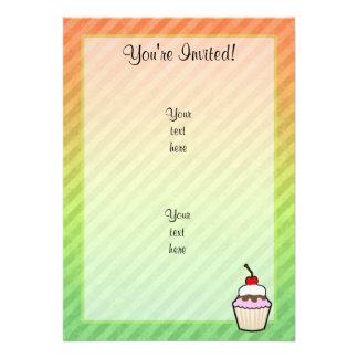 Cupcake Convites Personalizado