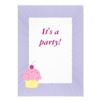 Cupcake Convite Personalizado